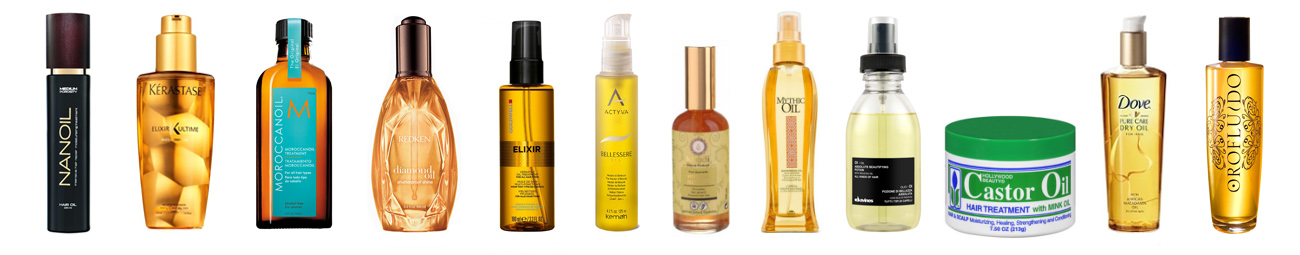 best hair oils products