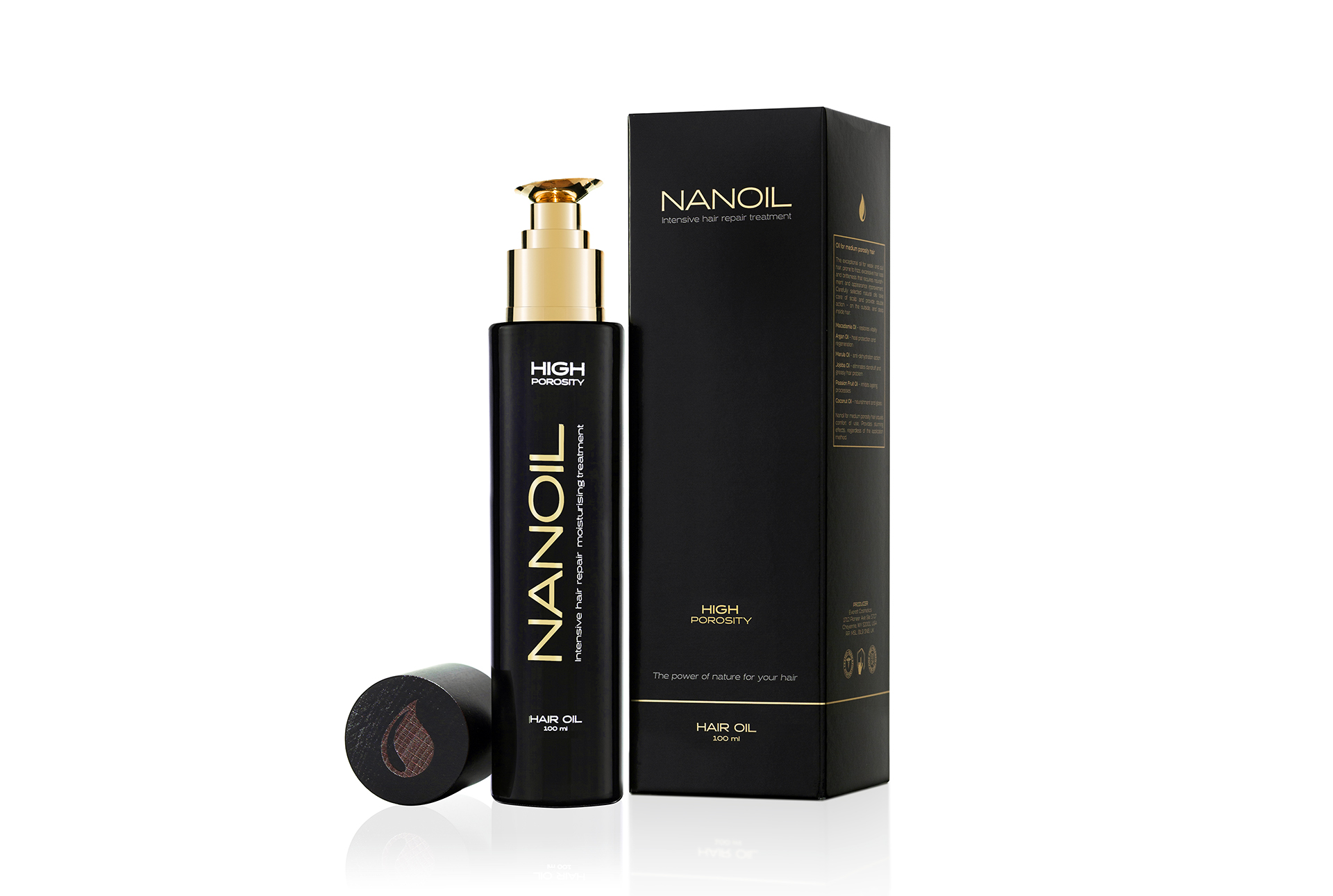 Nanoil - miglior olio per capelli